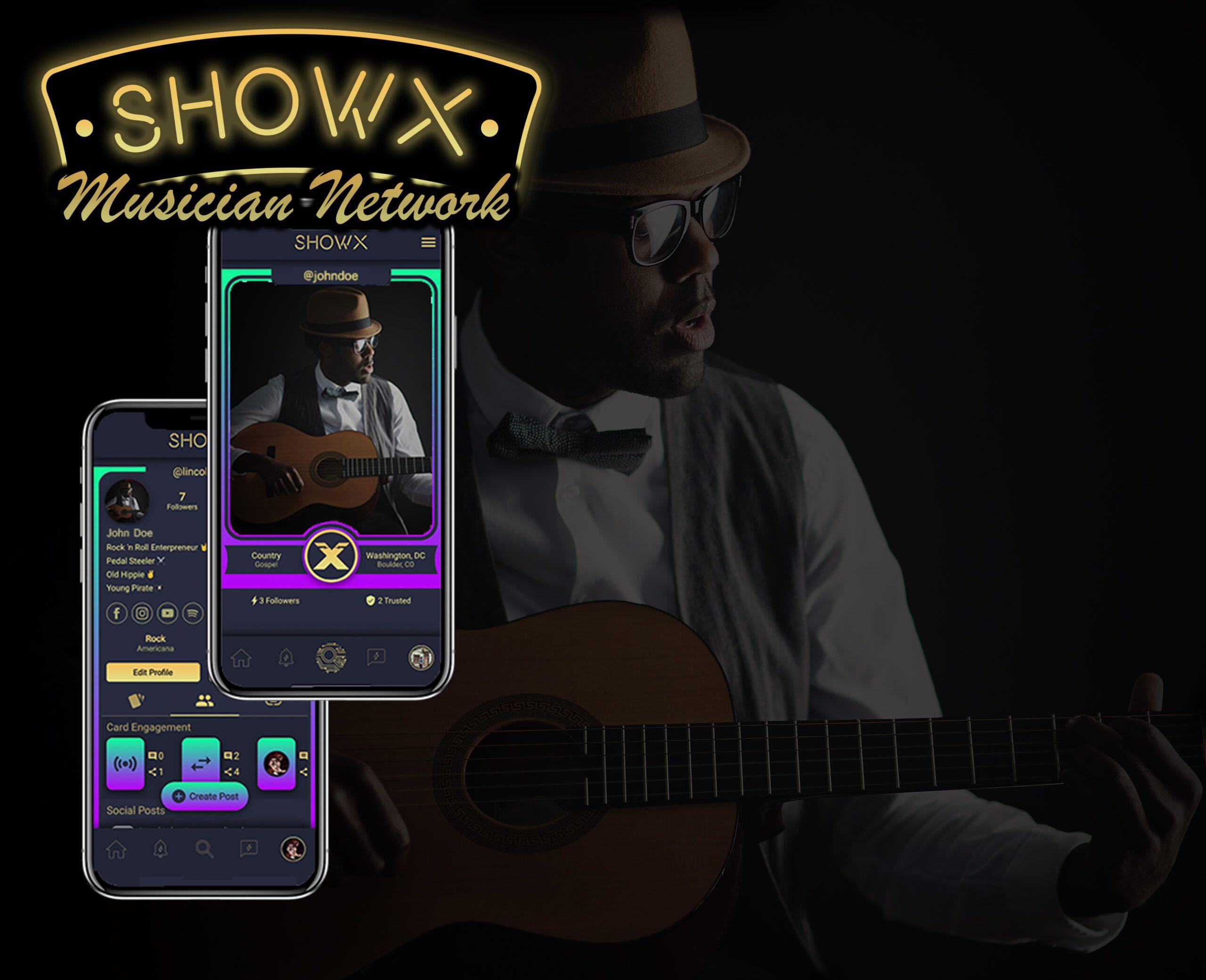 ShowX Logo w Phones