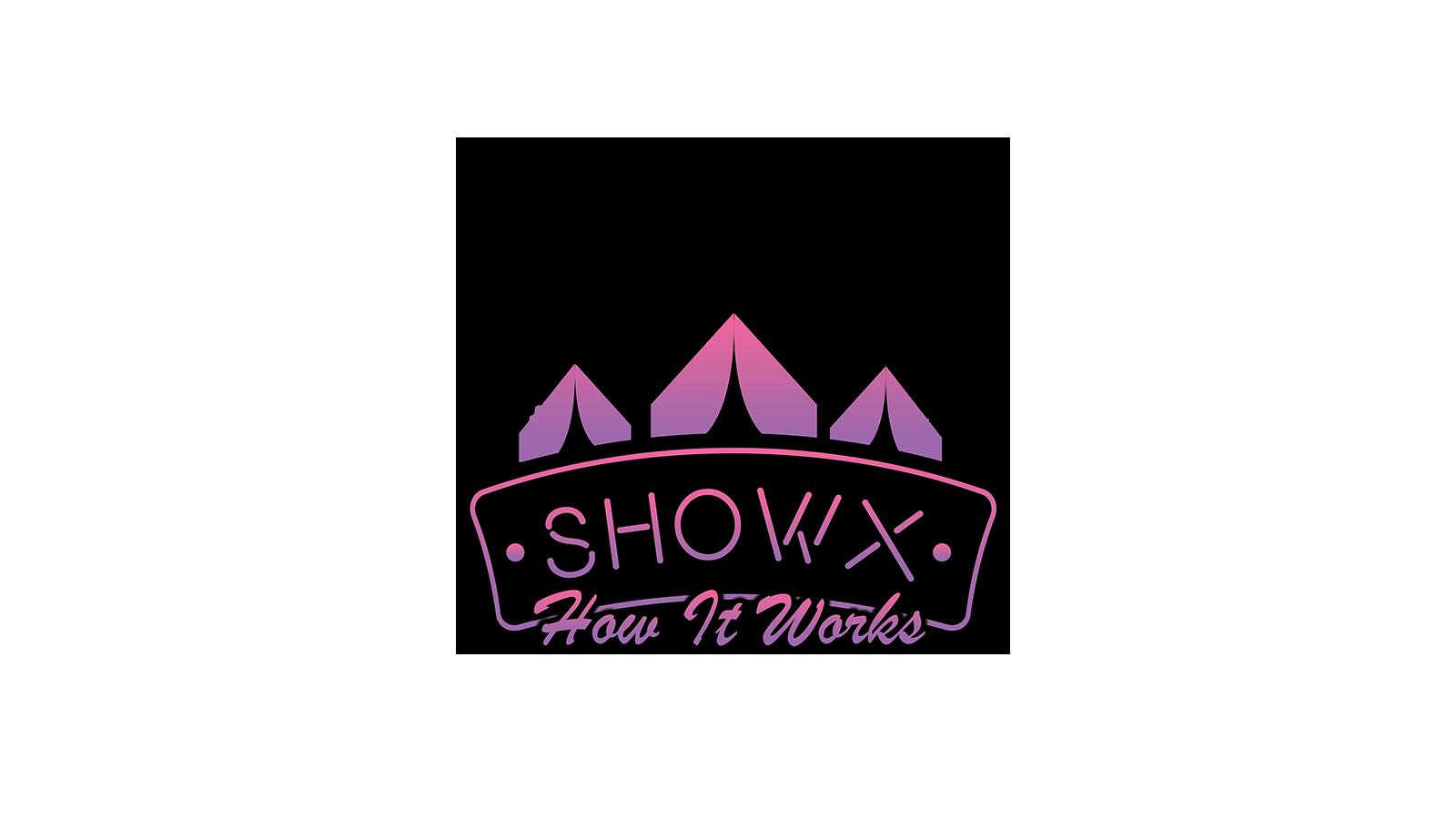 ShowX Website Logo (How It Works) Web copy